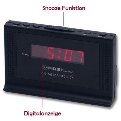 neu lcd wecker digital uhr alarm kinderwecker uhrwecker. Black Bedroom Furniture Sets. Home Design Ideas