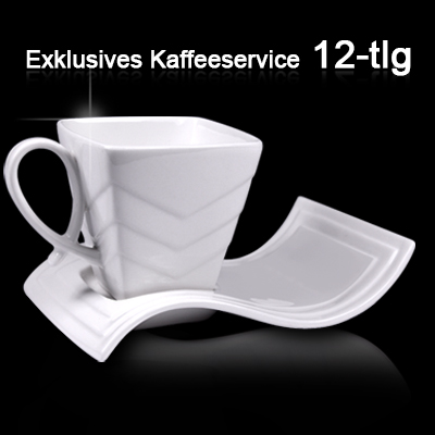 kaffeeservice kaffeetassen set kaffee tassen porzellan geschirr kaffeetasse ebay. Black Bedroom Furniture Sets. Home Design Ideas