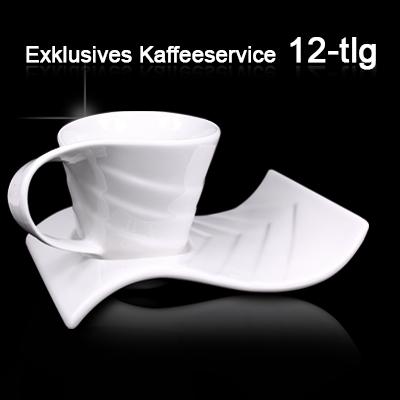 kaffeetassen set kaffeeservice kaffee tassen porzellan. Black Bedroom Furniture Sets. Home Design Ideas