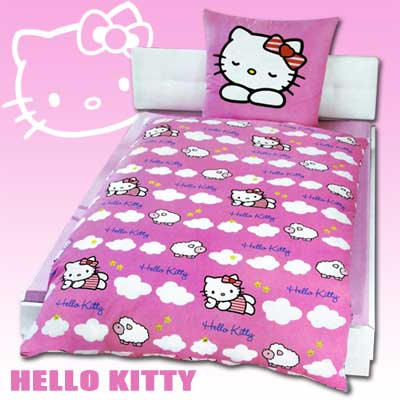 hello kitty bettw sche bettbezug kinder bettw sche f r kinder kinderbett bett k ebay. Black Bedroom Furniture Sets. Home Design Ideas