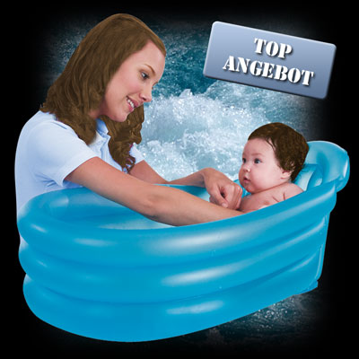 mini baby pool babypool aufblasbare babybadewanne babywanne baby in badewanne ebay. Black Bedroom Furniture Sets. Home Design Ideas