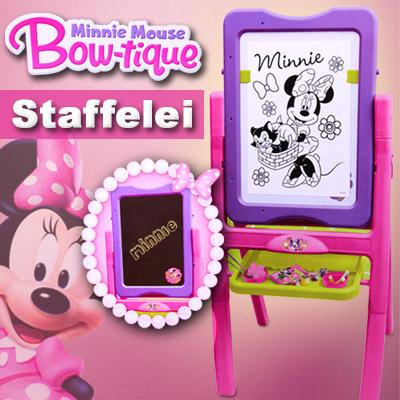 minnie mouse kinder tafel schreibtafel maltafel schultafel kreide pinsel malset ebay. Black Bedroom Furniture Sets. Home Design Ideas