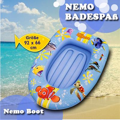 disney nemo kinder luftmatratze kindermatratze boot wasserspielzeug luft wasser ebay. Black Bedroom Furniture Sets. Home Design Ideas