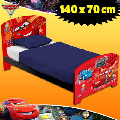 disney pixar cars 2 kinderbett kinder jugendzimmer bett kinderm bel jugendbett ebay. Black Bedroom Furniture Sets. Home Design Ideas