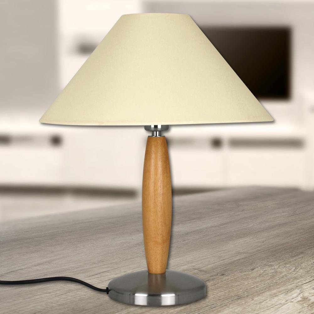 retro tischlampe holz. Black Bedroom Furniture Sets. Home Design Ideas