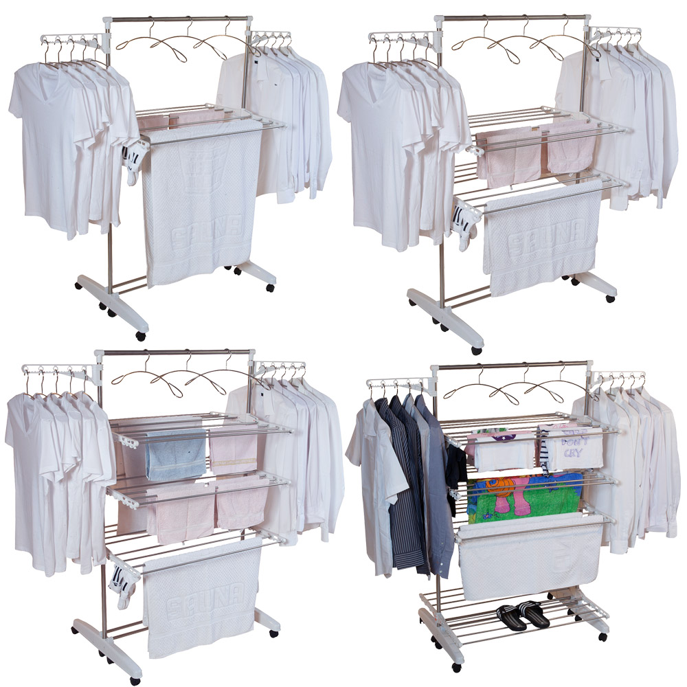 Wäscheständer mit Größenauswahl