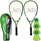 0030 Schläger Set Speed Badminton F600