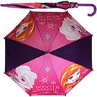 Regenschirm Frozen Anna&Elsa lila