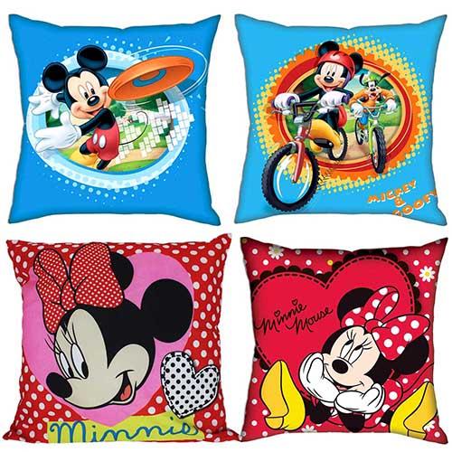 Disney Kissenbezug für Kinder Kissenhülle  FROZEN Cars 40 x 40cm Minnie ..
