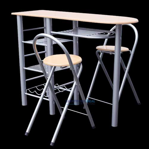 best k chenbar mit 2 st hlen ideas house design ideas. Black Bedroom Furniture Sets. Home Design Ideas
