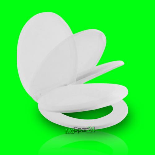 wc sitz mit absenkautomatik toilettendeckel toilettensitz klodeckel klobrille ebay. Black Bedroom Furniture Sets. Home Design Ideas