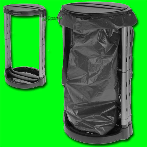120l m llsackst nder m llsackhalter abfallsackst nder m lleimer gelber sack gro ebay. Black Bedroom Furniture Sets. Home Design Ideas