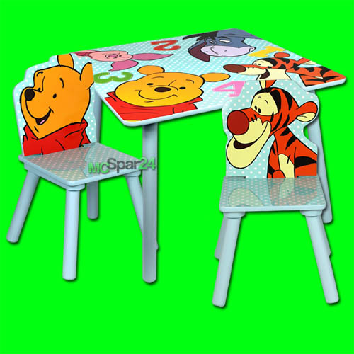 kindertisch winnie pooh bestseller shop f r m bel und. Black Bedroom Furniture Sets. Home Design Ideas
