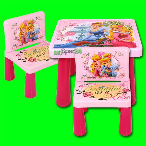 kindersitzgruppe disney princess sitzgruppe kinder tisch stuhl set kinderm bel. Black Bedroom Furniture Sets. Home Design Ideas