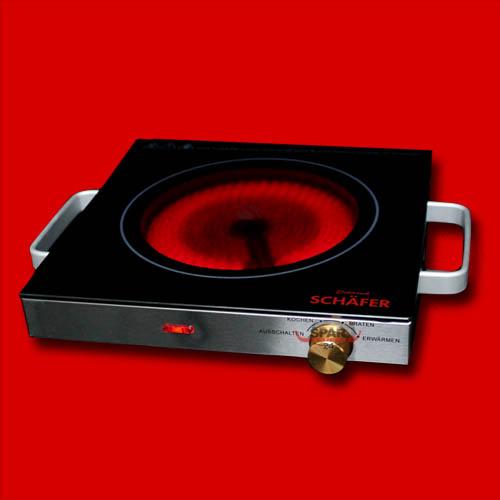 glas keramik infrarot kochplatte kochfeld einzelkochplatte. Black Bedroom Furniture Sets. Home Design Ideas
