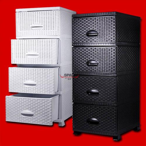 rattanm bel rattankommode korbkommode regal wandregal korbregal rattan kommode ebay. Black Bedroom Furniture Sets. Home Design Ideas