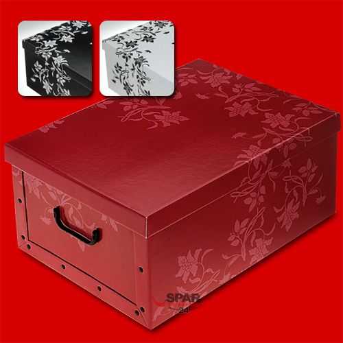 aufbewahrungsbox m deckel allzweckbox kisten schachteln kartons kartonbox box ebay. Black Bedroom Furniture Sets. Home Design Ideas