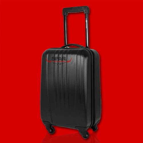 trolley 30l reisekoffer hartschale handgep ck koffer boardcase bordgep ck black ebay. Black Bedroom Furniture Sets. Home Design Ideas