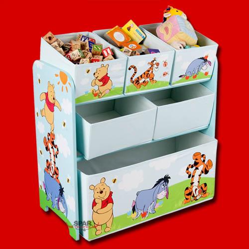 disney winnie the pooh kinder aufbewahrungsbox. Black Bedroom Furniture Sets. Home Design Ideas
