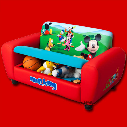 kindersofa disney mickey mouse m bel kinder sofa. Black Bedroom Furniture Sets. Home Design Ideas