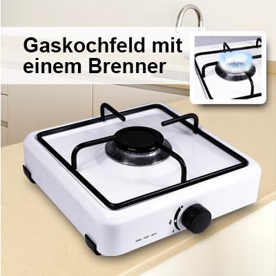 Neu gaskocher 1 flammig campingkocher gasherd camping for Gas kochplatte