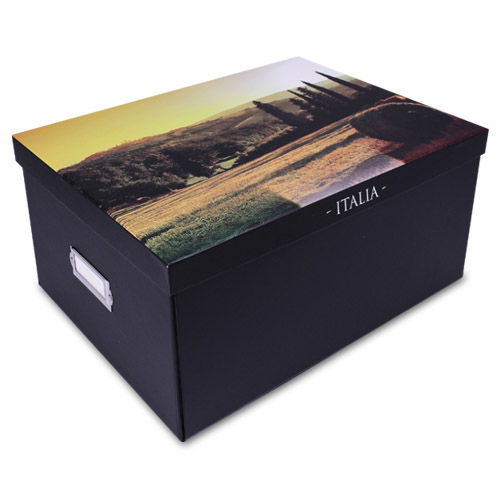 aufbewahrungsbox deckel sammelbox aufbewahrungs box kiste. Black Bedroom Furniture Sets. Home Design Ideas