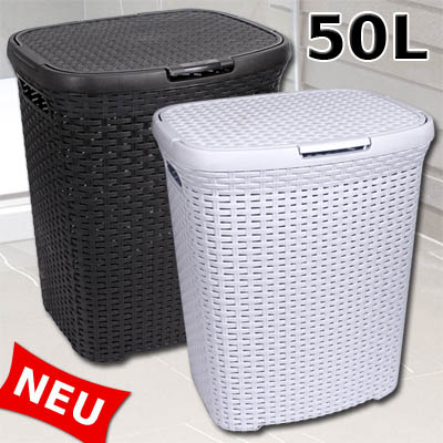 w schekorb rattan kunststoff w schetruhe w schebox. Black Bedroom Furniture Sets. Home Design Ideas
