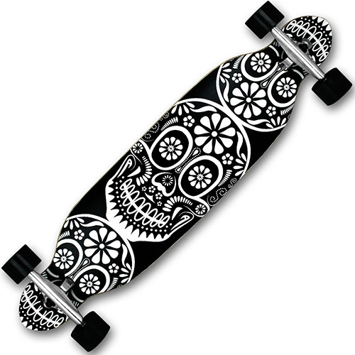 longboard skateboard komplett cruiserboard streetsurfer long board komplettboard ebay. Black Bedroom Furniture Sets. Home Design Ideas
