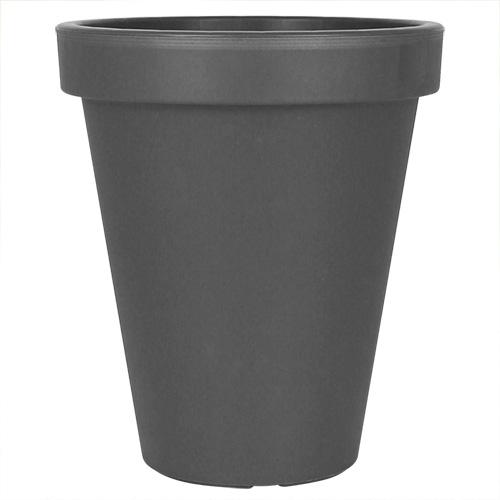 blumenk bel pflanzk bel pflanzentopf blumentopf bertopf kunststoff grau wei ebay. Black Bedroom Furniture Sets. Home Design Ideas