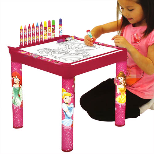 disney princess kindermaltisch kinder maltisch tisch malset f r kinder maltische ebay. Black Bedroom Furniture Sets. Home Design Ideas