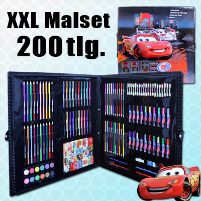disney cars malset malkoffer stifte set kinder malen. Black Bedroom Furniture Sets. Home Design Ideas