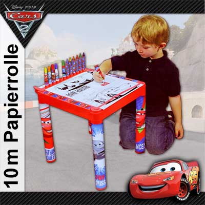 disney cars 2 kinder maltisch kindermaltisch tisch malset. Black Bedroom Furniture Sets. Home Design Ideas