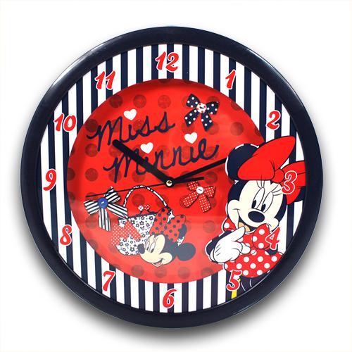 zu XXL Wanduhr 36 cm Disney Minnie Mouse Maus Große Uhr Kinderuhr  ~ Wanduhr Uhr Holz Kinder Kinderzimmer Kinderuhr