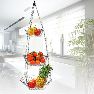 details zu k rbe h ngekorb obstkorb gem seampel etagere. Black Bedroom Furniture Sets. Home Design Ideas