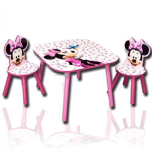 disney minnie kindersitzgruppe kinder sitzgruppe tisch st hle kindertisch m bel ebay. Black Bedroom Furniture Sets. Home Design Ideas