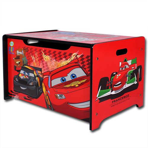 Spielzeugtruhe disney cars kinder truhe sitzbank box