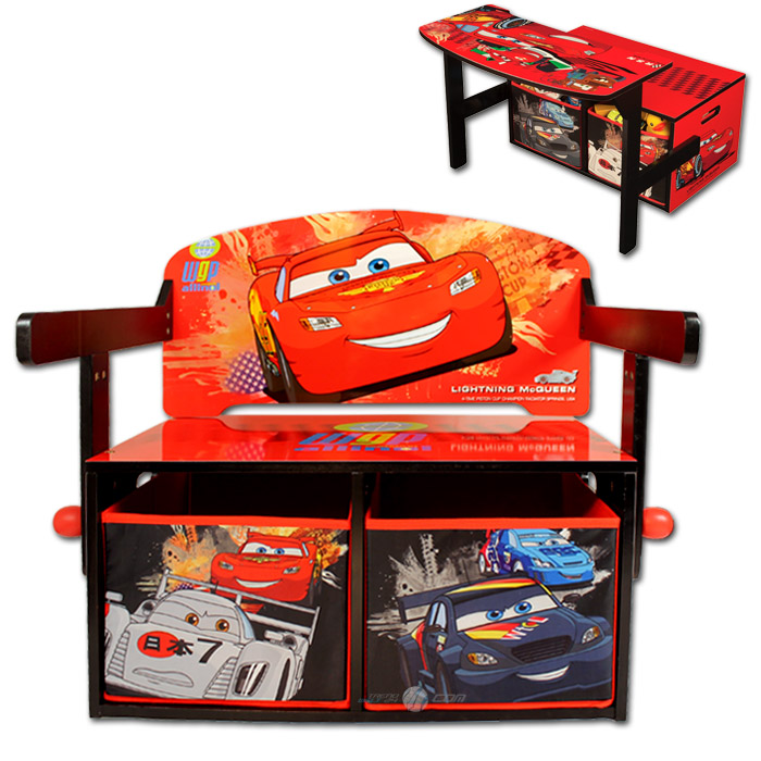 disney cars kinder tisch stuhl kindertisch bank kinderbank kindersitzbank holz ebay. Black Bedroom Furniture Sets. Home Design Ideas