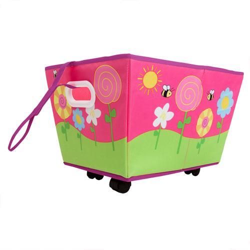 spielzeugkiste rollen kinder spielzeugbox aufbewahrungsbox. Black Bedroom Furniture Sets. Home Design Ideas