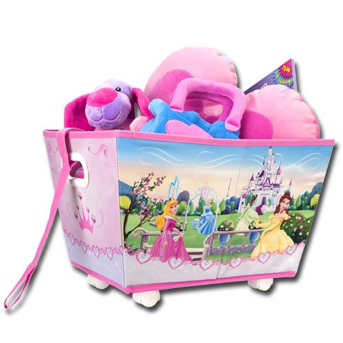 disney cars princess spielzeugkiste rollen spielzeugbox kinder spielzeugtruhe ebay. Black Bedroom Furniture Sets. Home Design Ideas