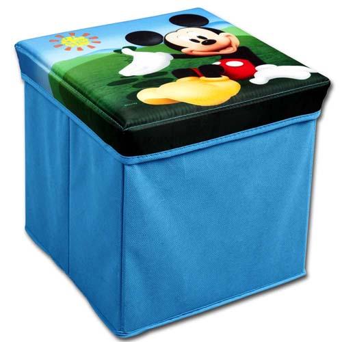 Disney Kinder Hocker Truhe Spielzeugkiste Spielzeugbox Aufbewahrungsbox Sitz Box