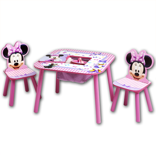 disney kindersitzgruppe ablagefach kinderzimmer kinder tisch stuhl kinderm bel ebay. Black Bedroom Furniture Sets. Home Design Ideas