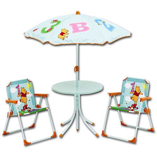 disney campingstuhl tisch sitzgruppe sonnenschirm kinder gartenstuhl stuhl m bel ebay. Black Bedroom Furniture Sets. Home Design Ideas