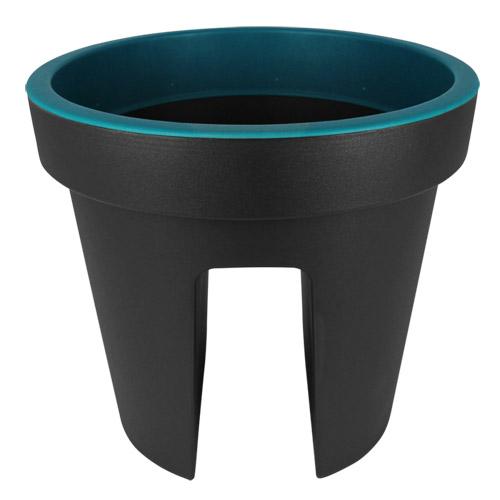 balkonkasten blumenkasten balkon gel nderkasten blumenk bel pflanzkasten grau ebay. Black Bedroom Furniture Sets. Home Design Ideas