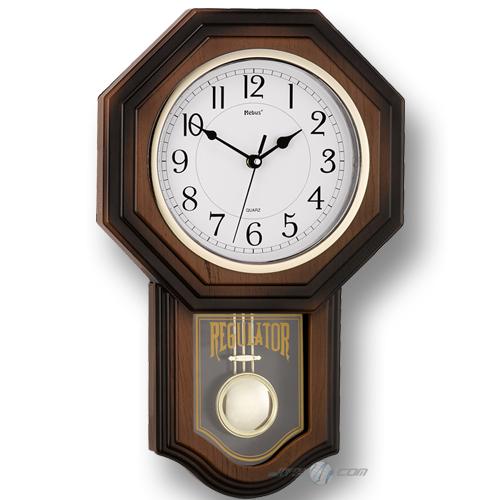 antiker regulator mebus design pendeluhr wanduhr uhr mit. Black Bedroom Furniture Sets. Home Design Ideas