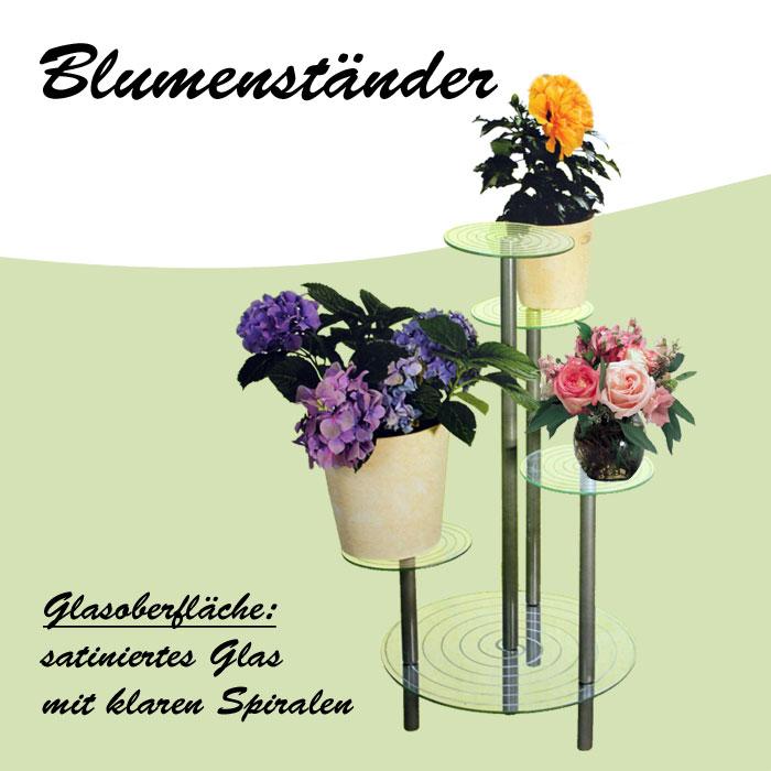 Kesper blumentreppe blumens ule blumenst nder blumenbank for Stylische pflanzen