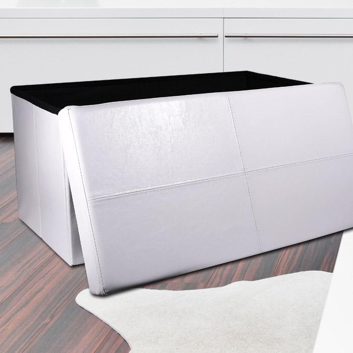 truhe sitztruhe truhenbank w schekorb w schebox box. Black Bedroom Furniture Sets. Home Design Ideas