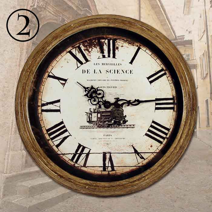 neu antike wanduhr 32 cm retro design wanduhren k chenuhr k chenuhren wand uhr ebay. Black Bedroom Furniture Sets. Home Design Ideas
