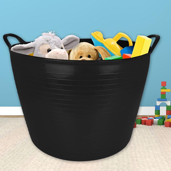 40l gartenkorb w schekorb eimer spielzeubbox kompost. Black Bedroom Furniture Sets. Home Design Ideas