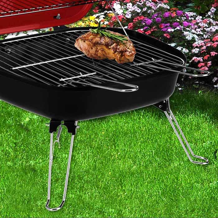 tischgrill partygrill minigrill grill garten holzkohle bbq barbecue kohle mobil ebay. Black Bedroom Furniture Sets. Home Design Ideas