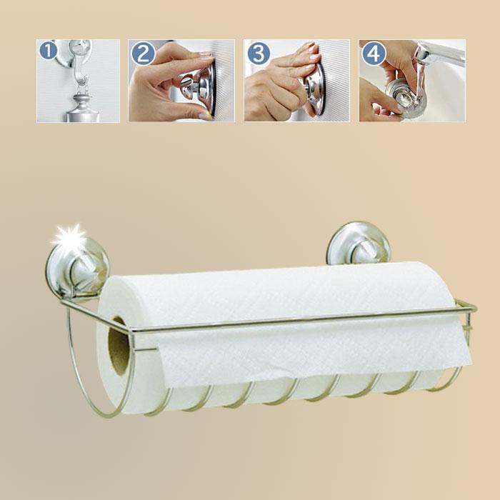 everloc papierrollenhalter k chenrollen halterung. Black Bedroom Furniture Sets. Home Design Ideas
